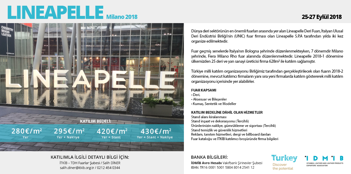 Lineapelle Milano 2018-2